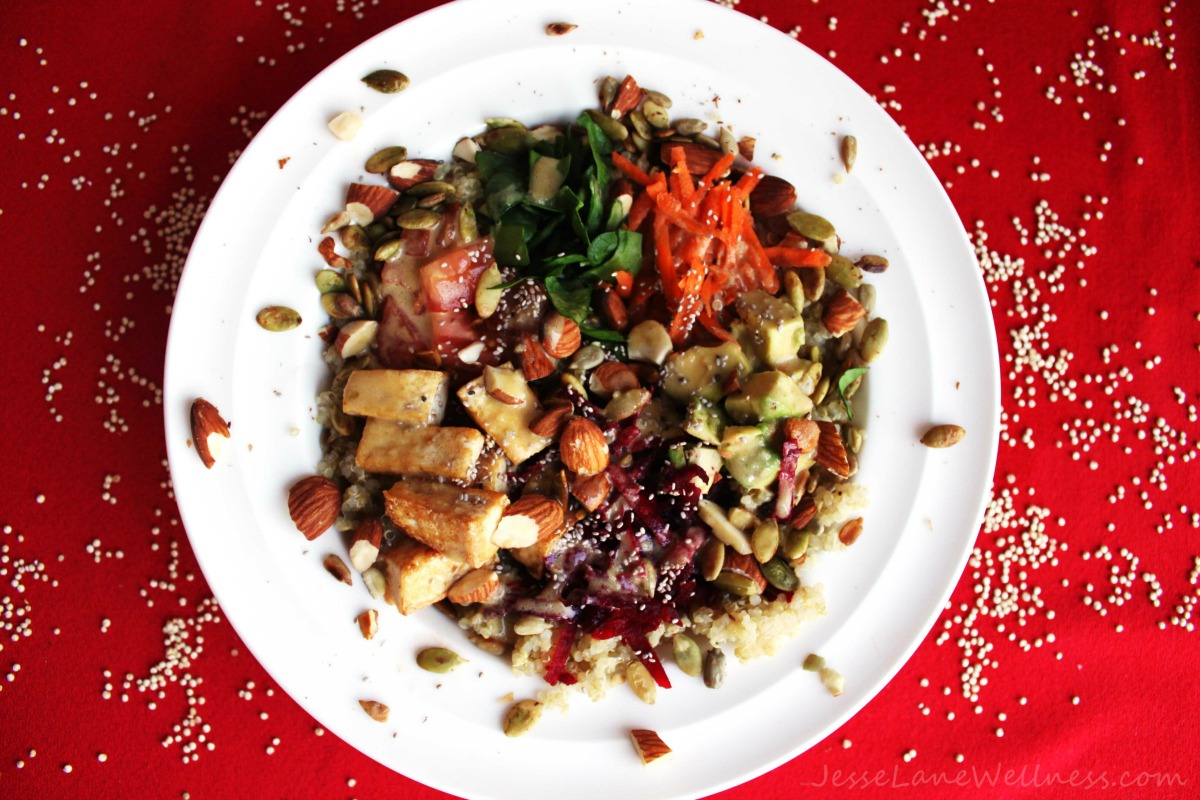 Veggie-Grain-Goodness-Bowl-by-@JesseLaneWellness-vegan