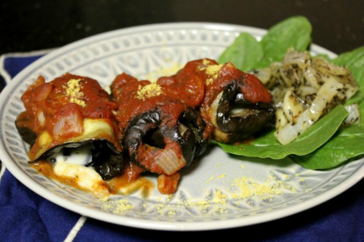 Vegan Eggplant Cannelloni [Gluten-Free]