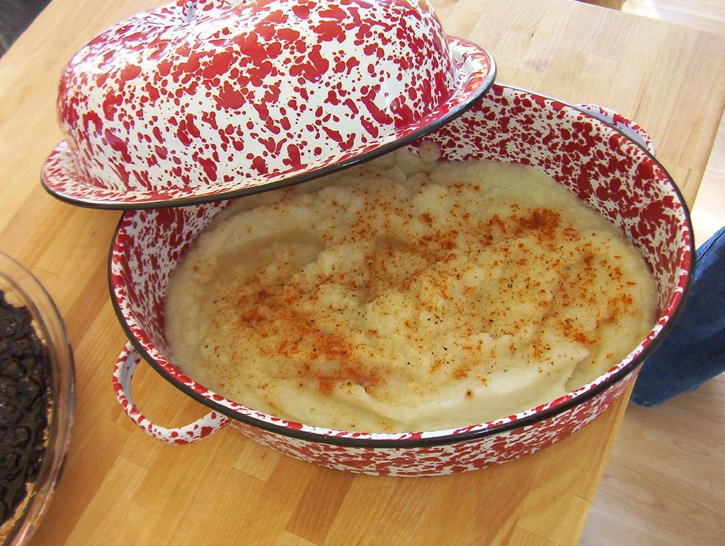 mashed cauli potatoes