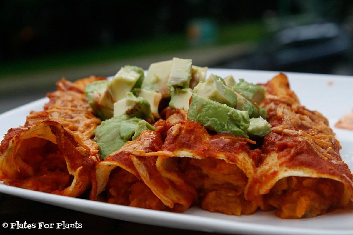 Pumpkin Enchiladas [Vegan]