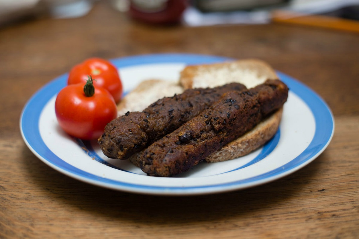 Smokey Black Bean Sausages [Vegan]