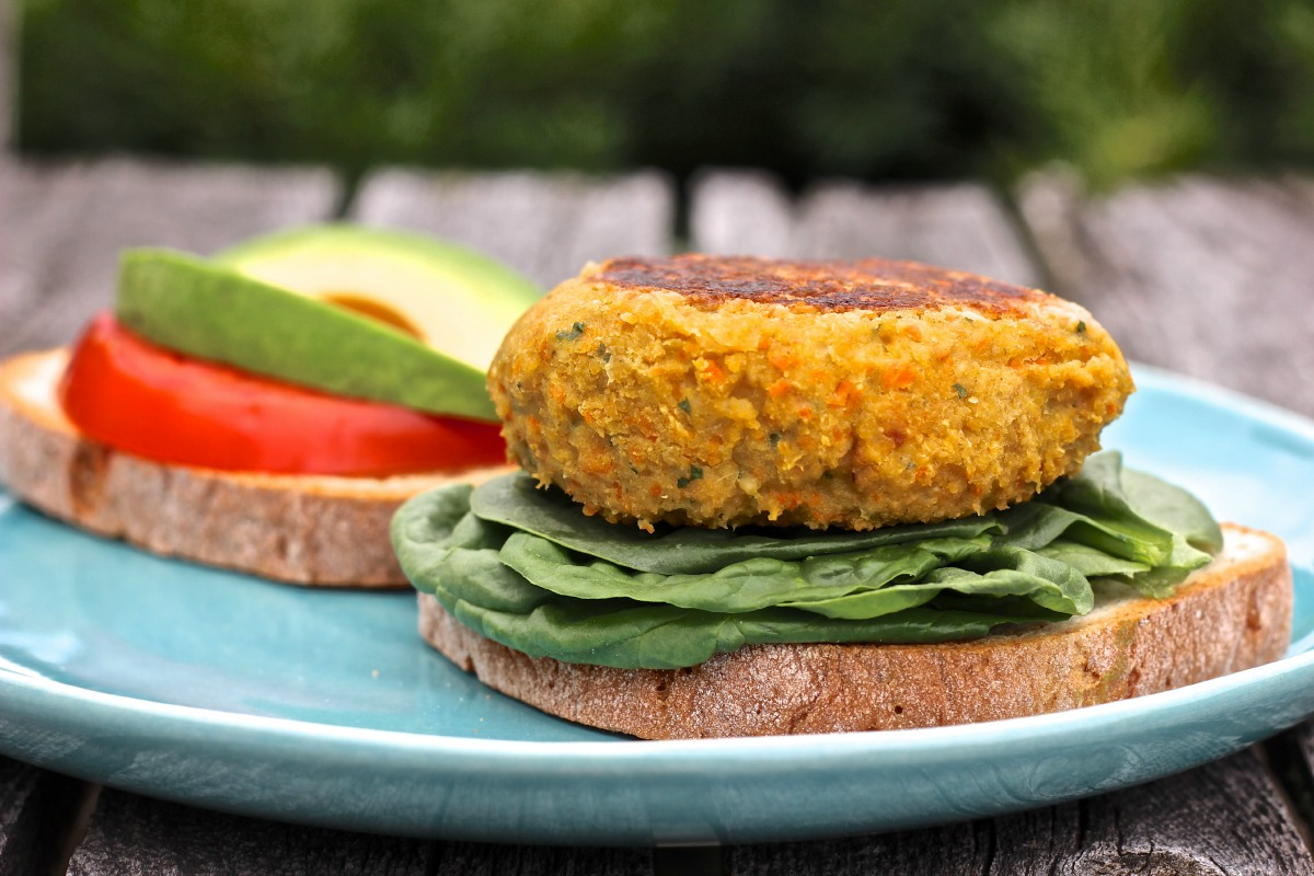 Basic Veggie and Bean Burgers [Vegan, Gluten-Free]