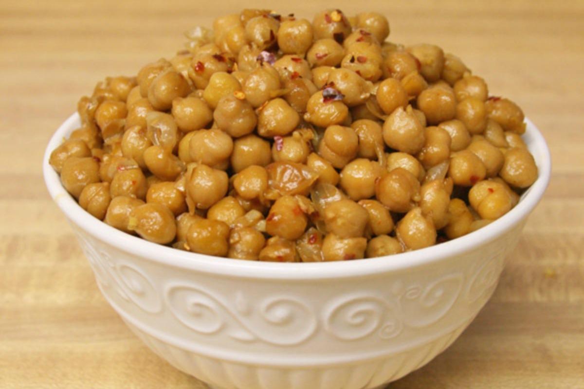 Ginger Garlic Chickpeas [Vegan, Gluten-Free]