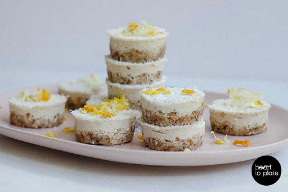 Lemon Cashew Tarts [Vegan, Raw, Gluten-Free]
