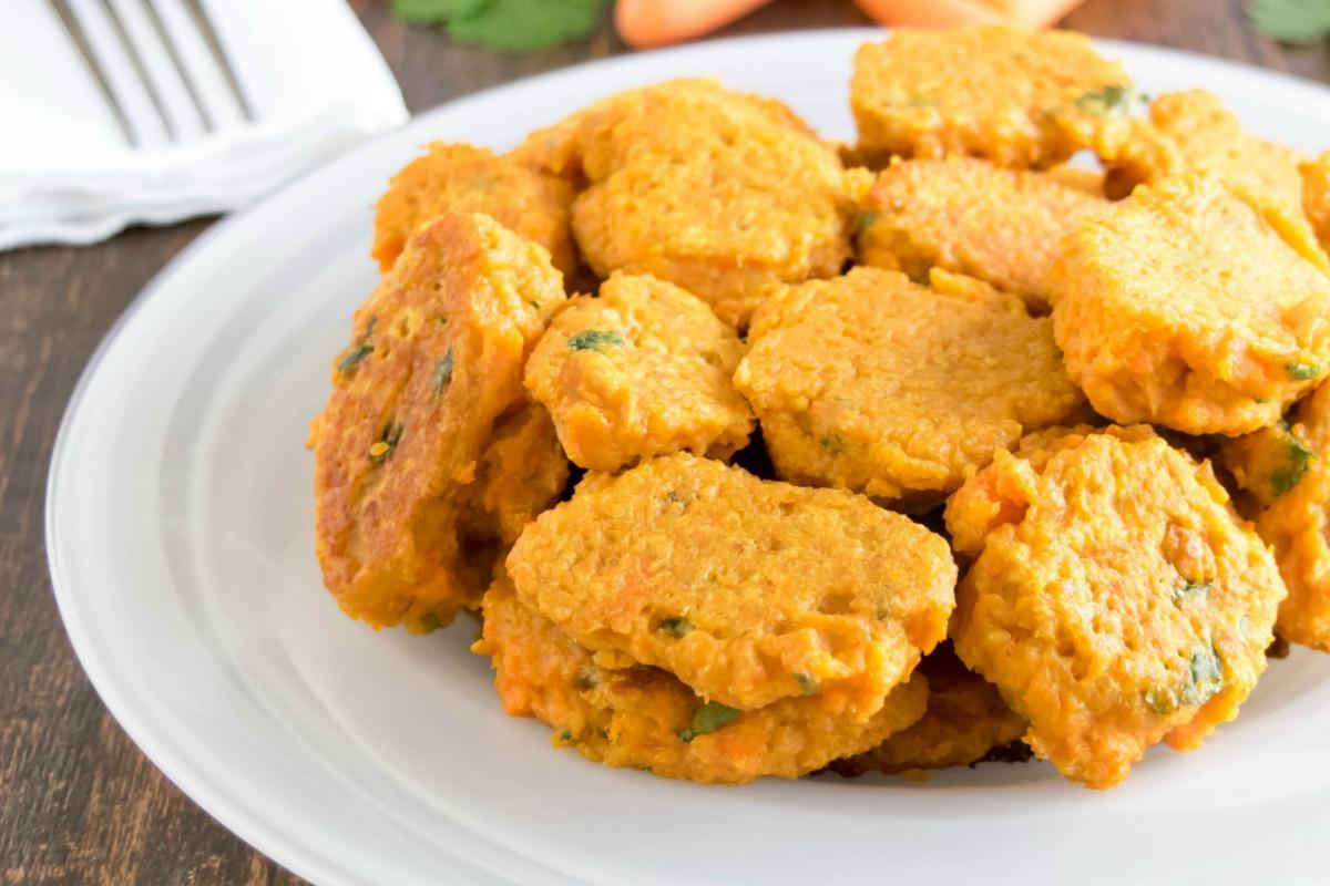 Skinny Carrot Fritters [Vegan]