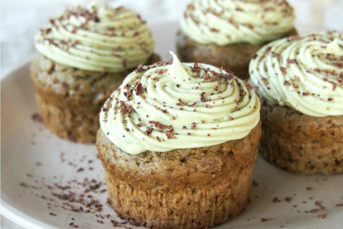 Matcha Green Tea Cupcakes [Vegan]