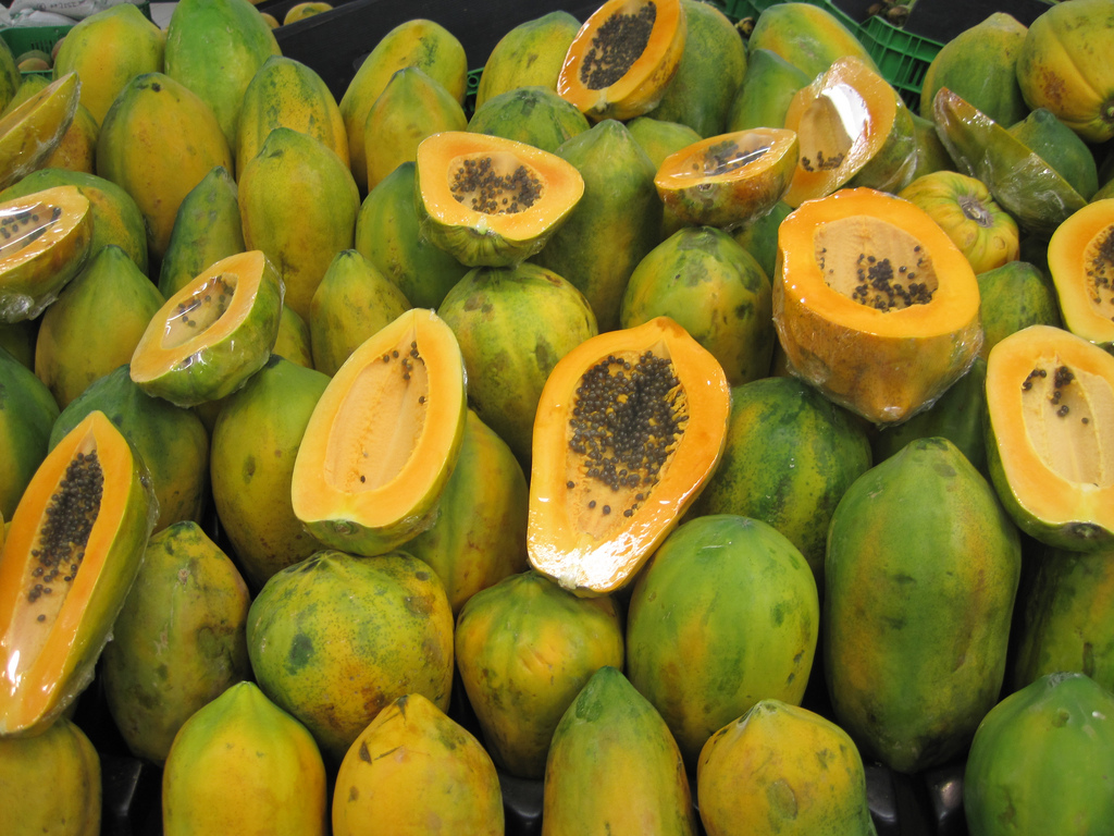 rainbow papayas