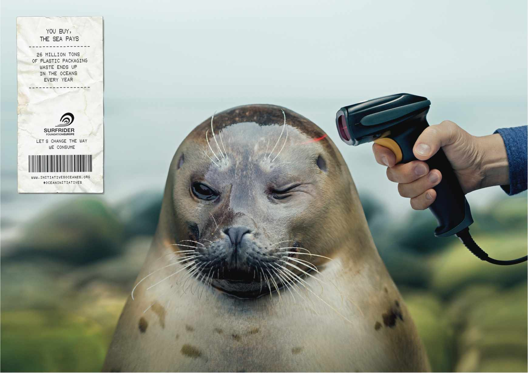 Powerful Ads Featuring Marine Animals At Gunpoint Will Make You Reconsider Your Plastic Use One Green Planet
