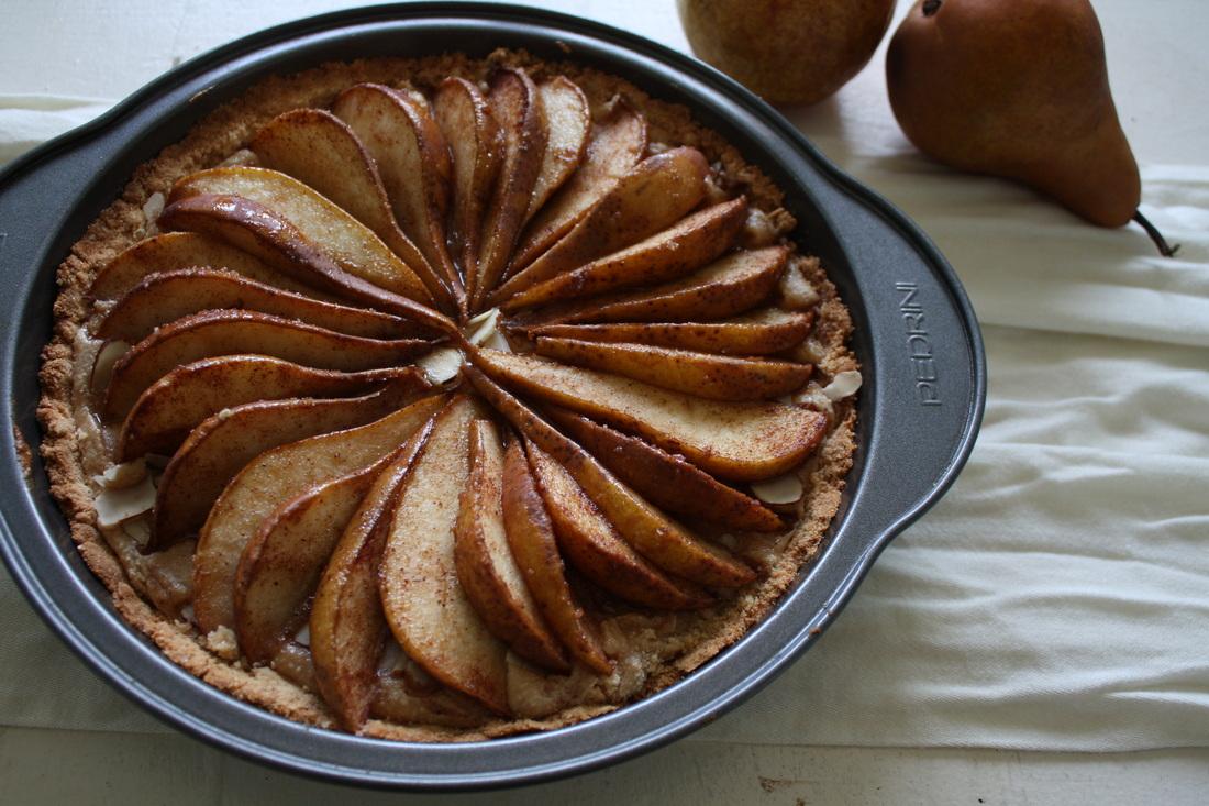 Pear-Almond-Tart