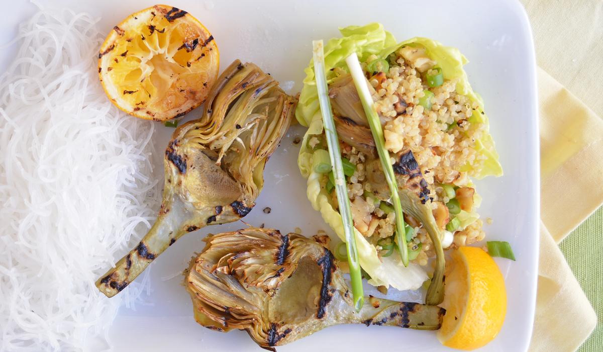 artichoke wraps