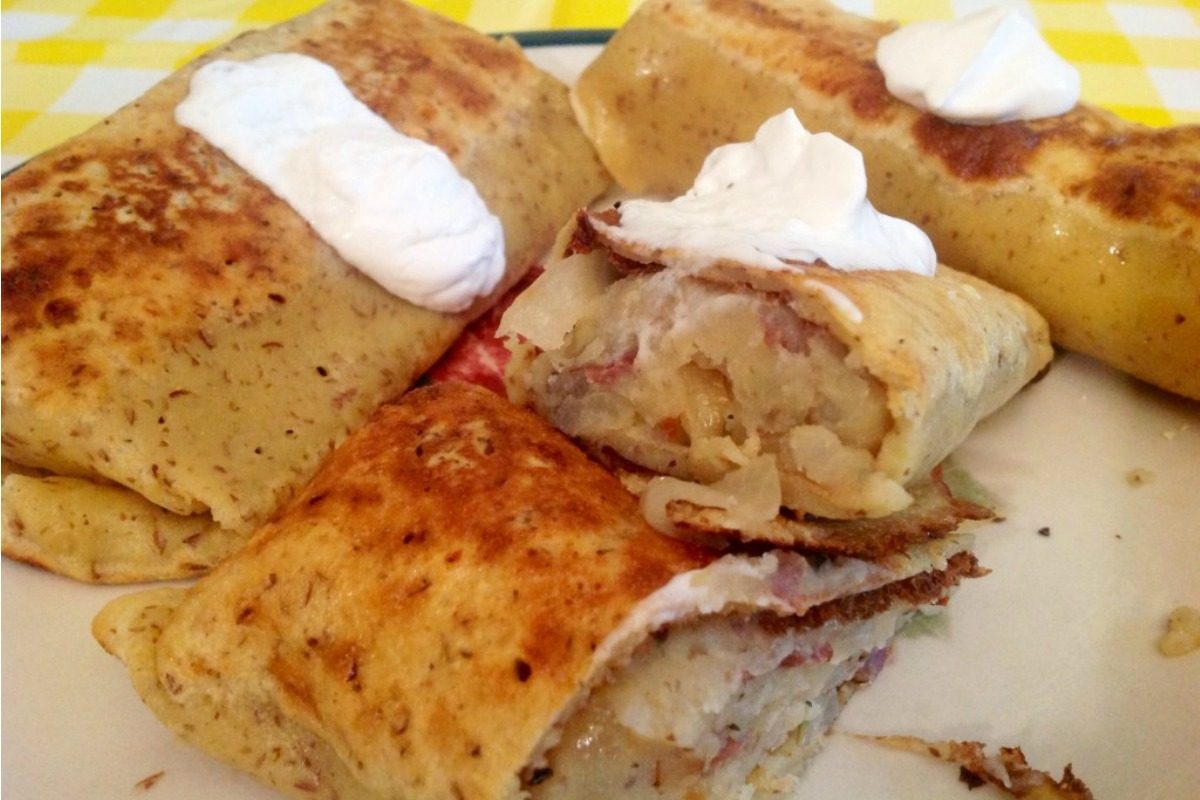 Vegan and Gluten-Free Potato Blintzes