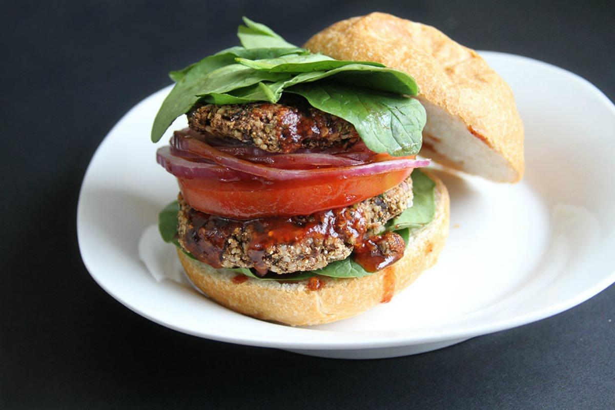 Smoky Black Bean and Hemp Seed Burgers [Vegan, Gluten-Free]