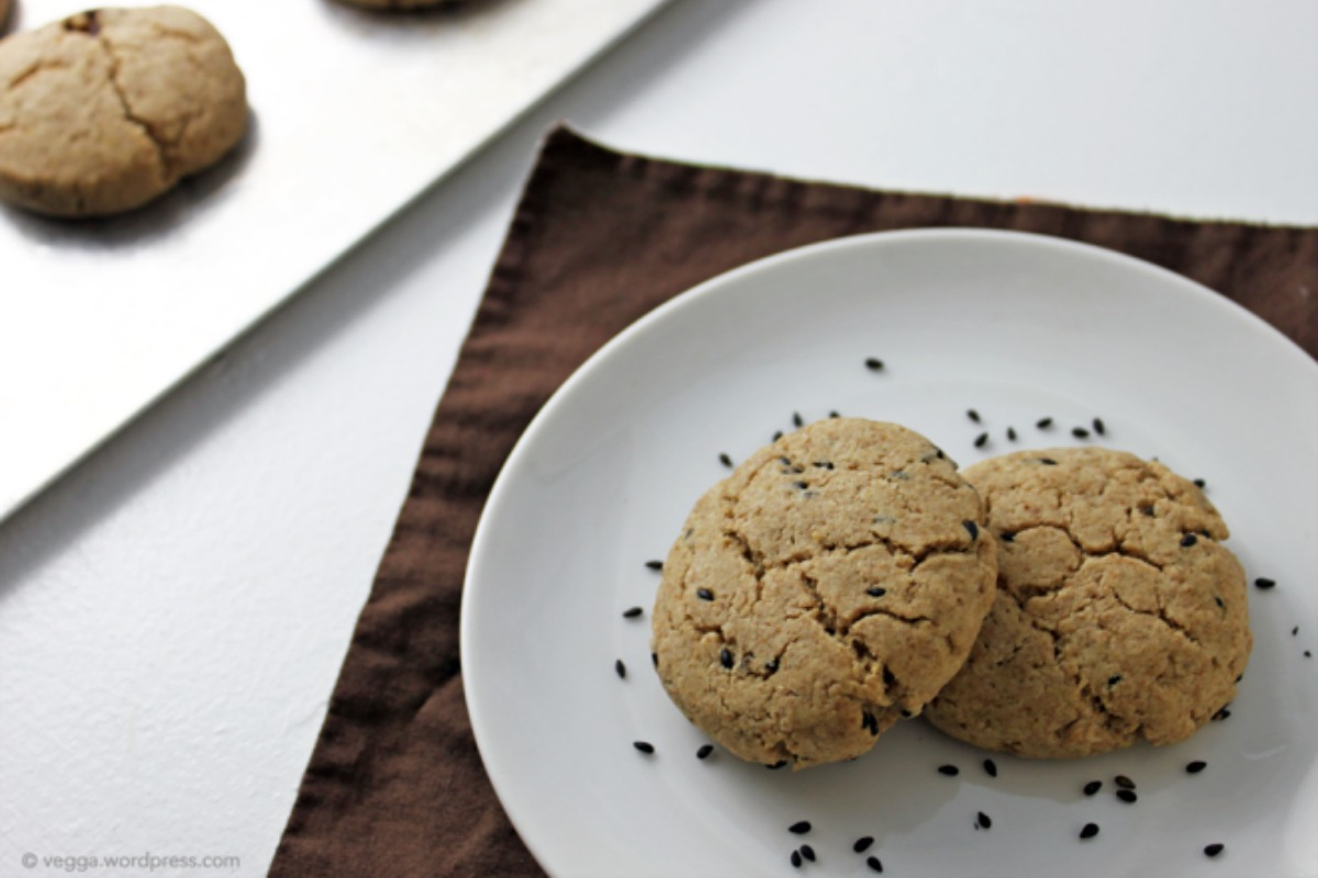 Tahini Maple Cookies [Vegan]