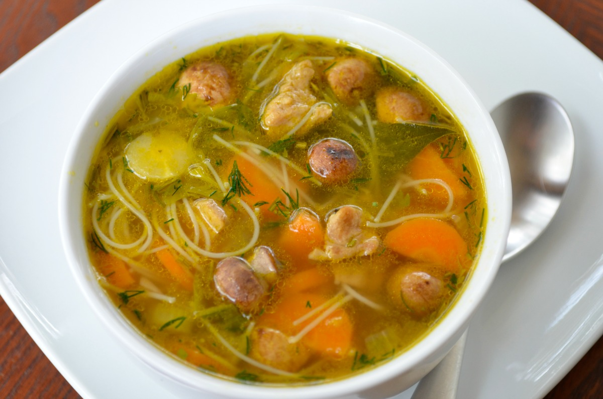 Matzo Ball Soup Recipe for Passover [Vegan]