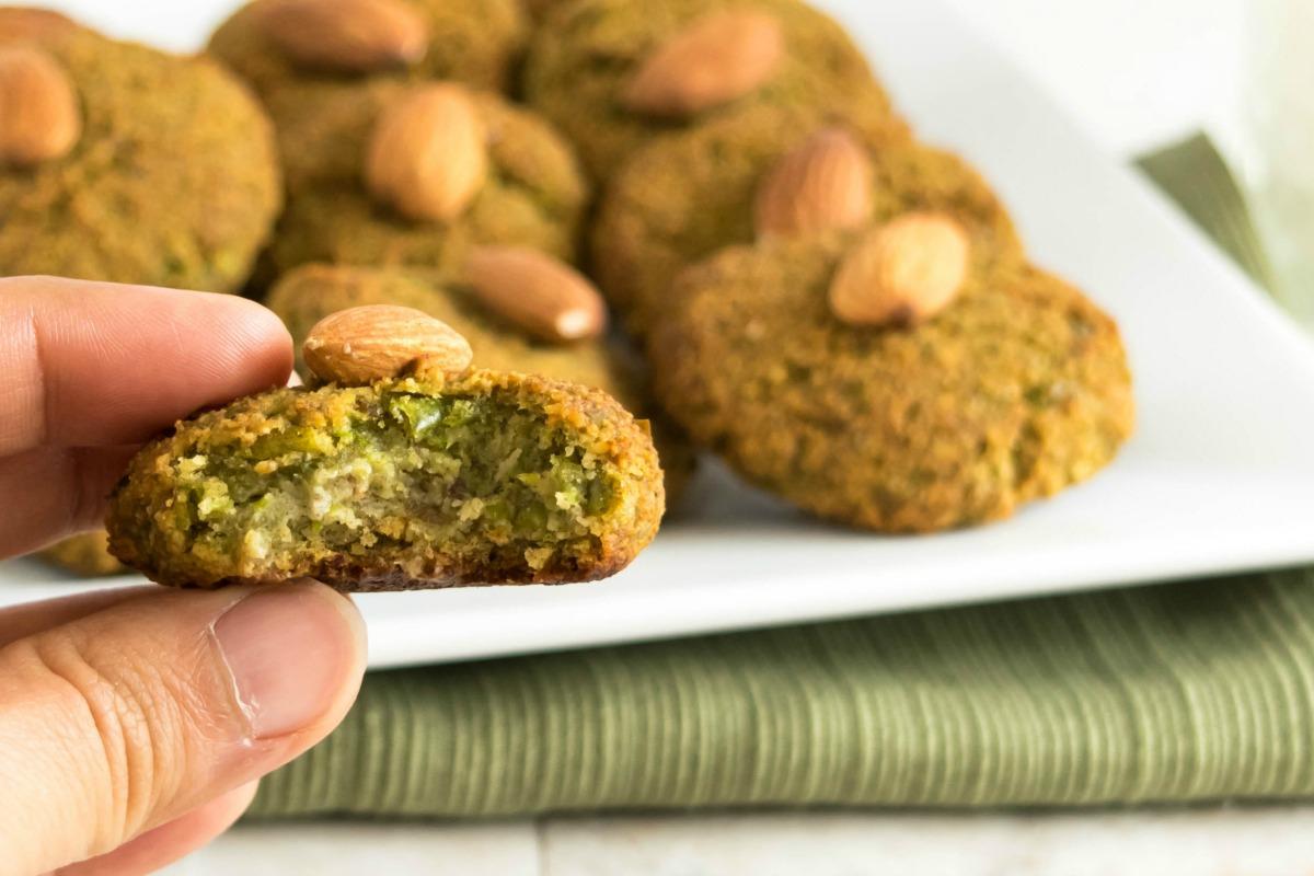 Nutrient Rich Green Peas Cookies [Vegan, Gluten-Free]