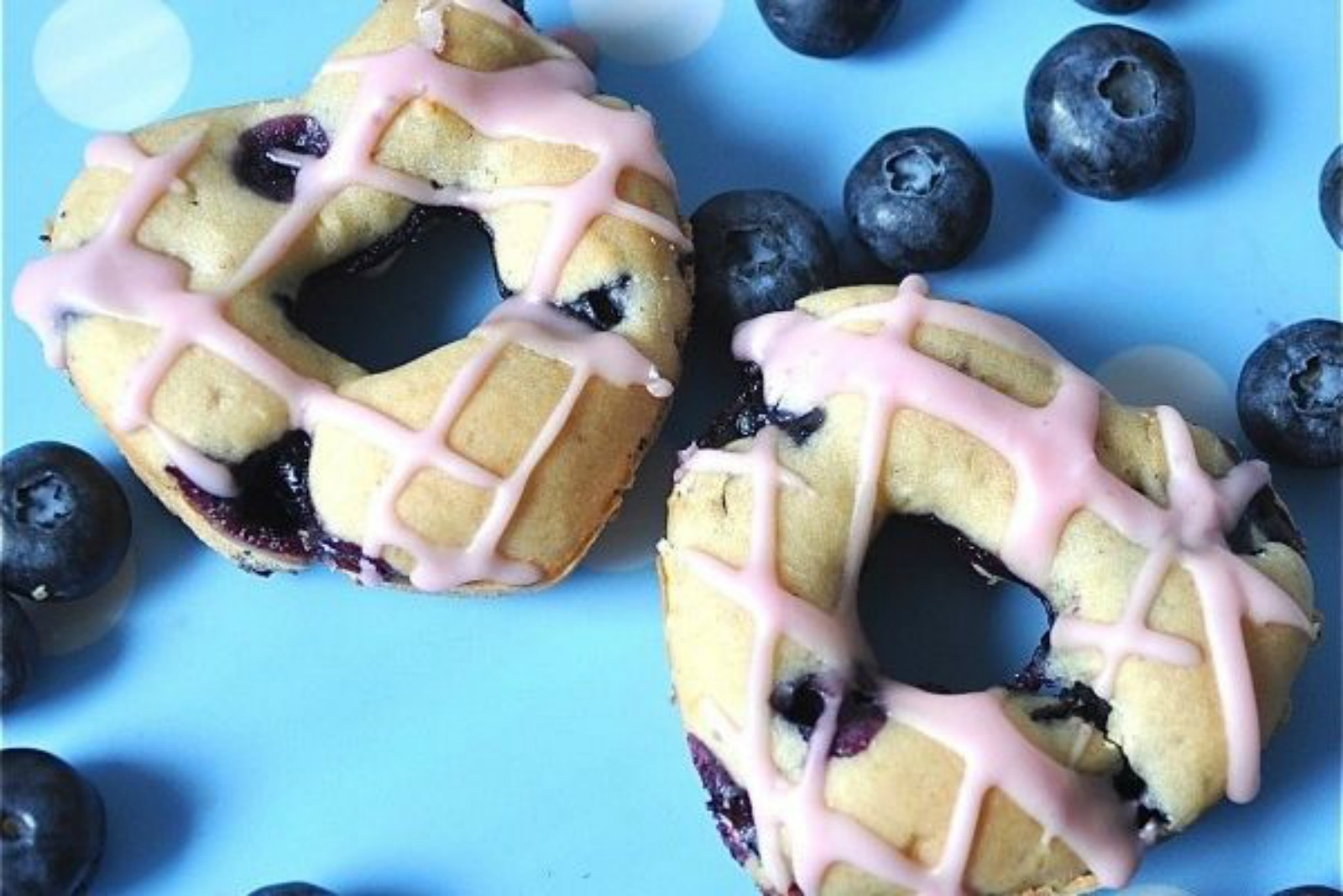 Baked-Blueberry-Donuts
