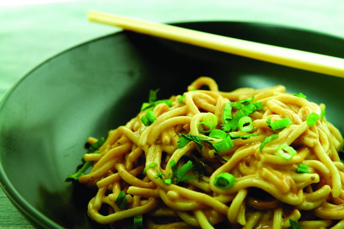 Chilled Peanut Noodles [Vegan]