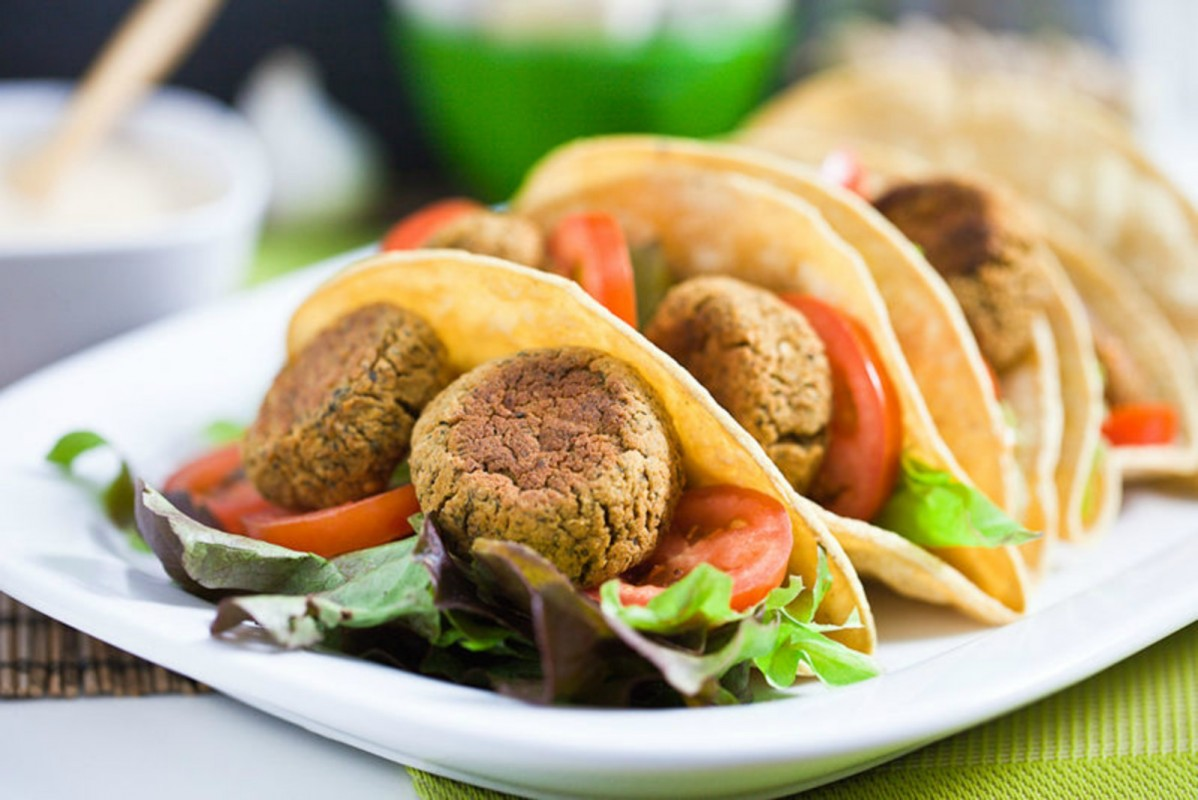 Falafel-Tacos