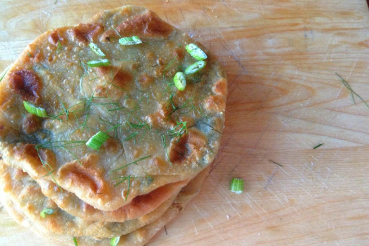 Fennel Pies (Marathopites) [Vegan]