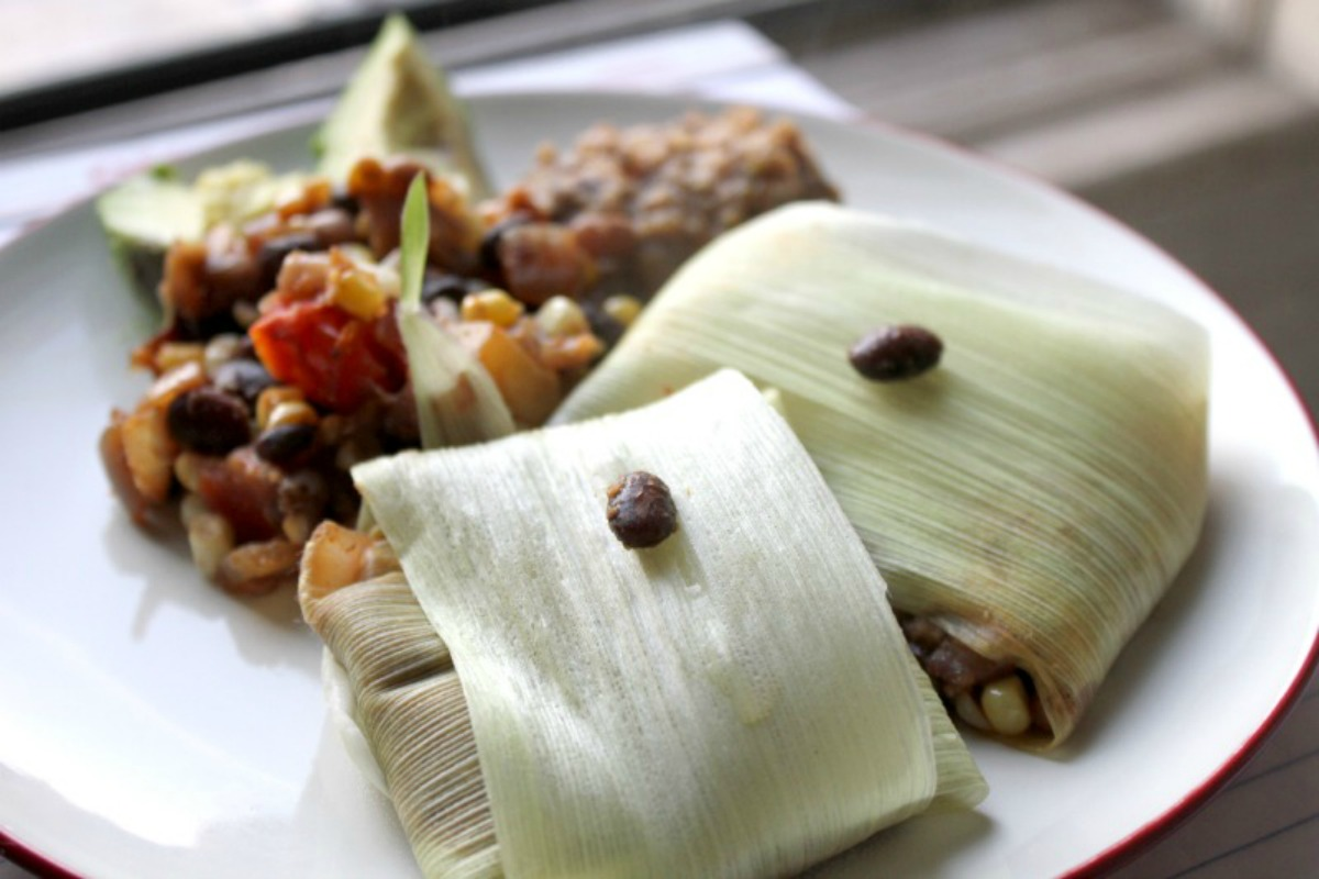 tamales-plated
