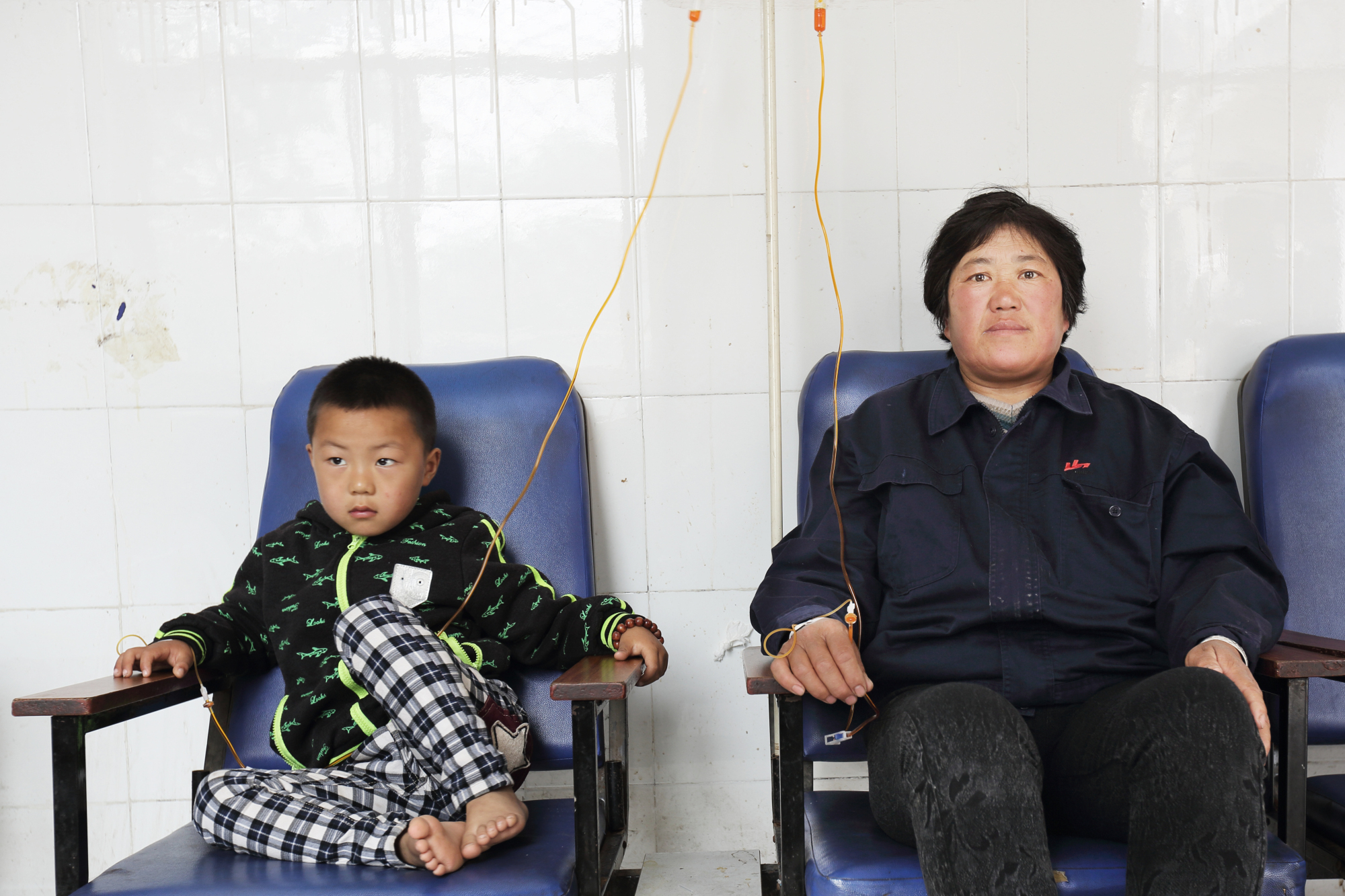 In pictures: The forgotten victims of China's air pollution 'clean-up'