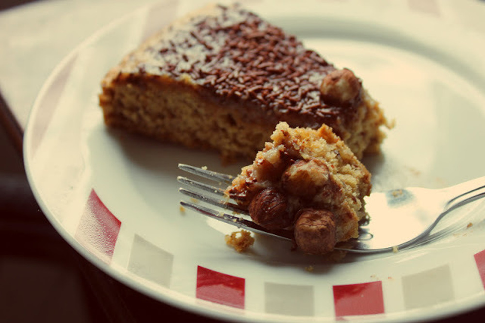 Hazelnut-Coffee-Cake