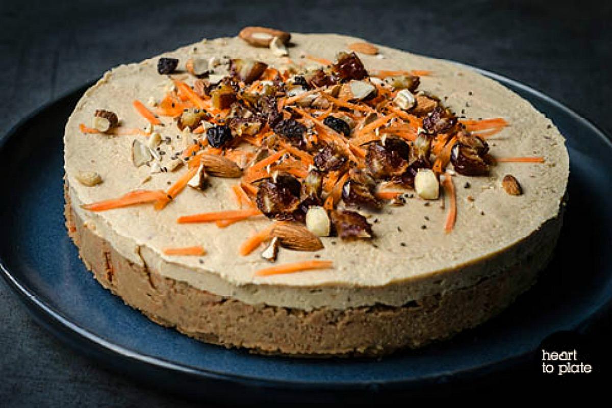 Raw Carrot Cake [Vegan, Gluten-Free]