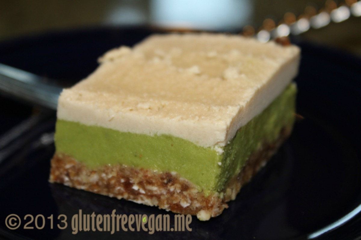 Raw-vocado Key Lime Pie