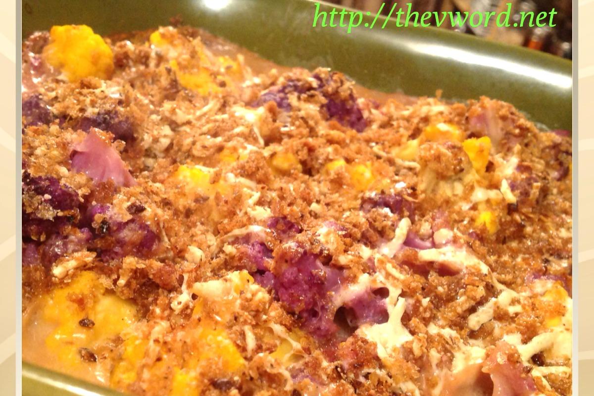 Creamy Cauliflower Gratin [Vegan, Gluten-Free]