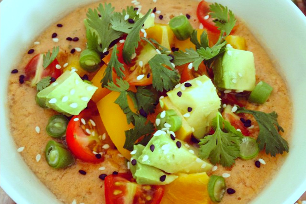 The Ultimate Summer Gazpacho [Vegan, Raw, Gluten-Free]