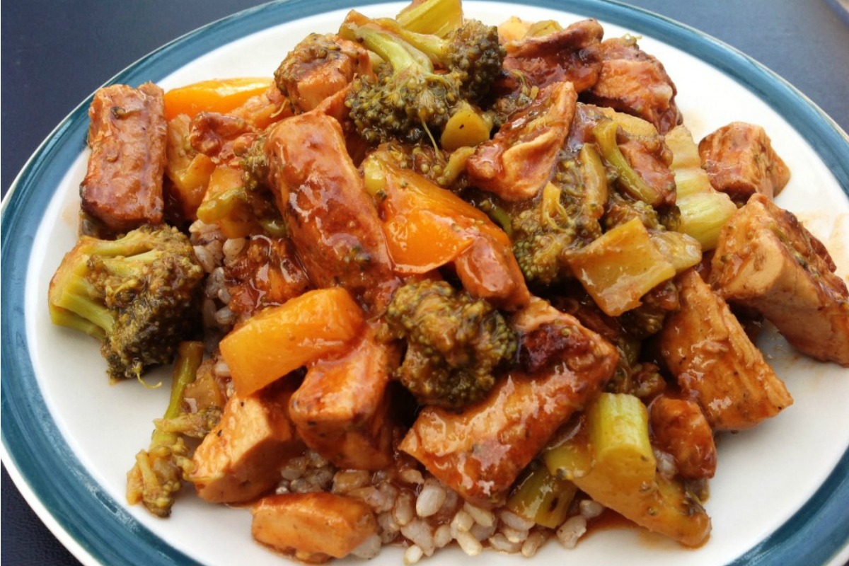 egan Sweet and Sour 'Chicken'