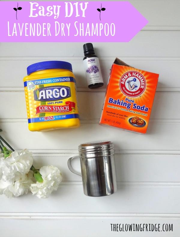 Easy Diy Lavender Dry Shampoo One Green Planetone Planet