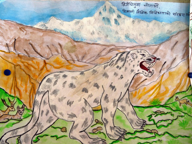 How We're Empowering Kids to Help Protect  Snow Leopards in Nepal