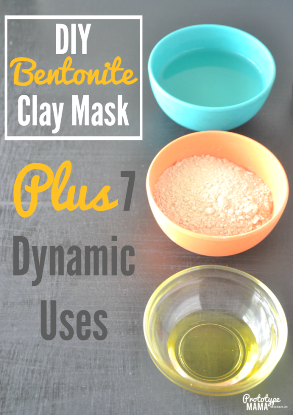 DIY Bentonite Clay Mask + 7 Dynamic Uses