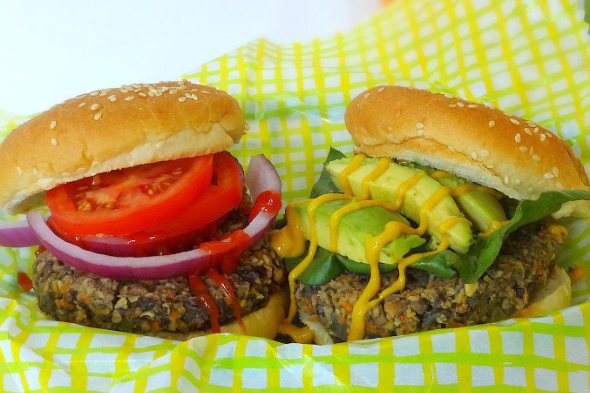 Hefty, Hearty Mushroom Burgers [Vegan]