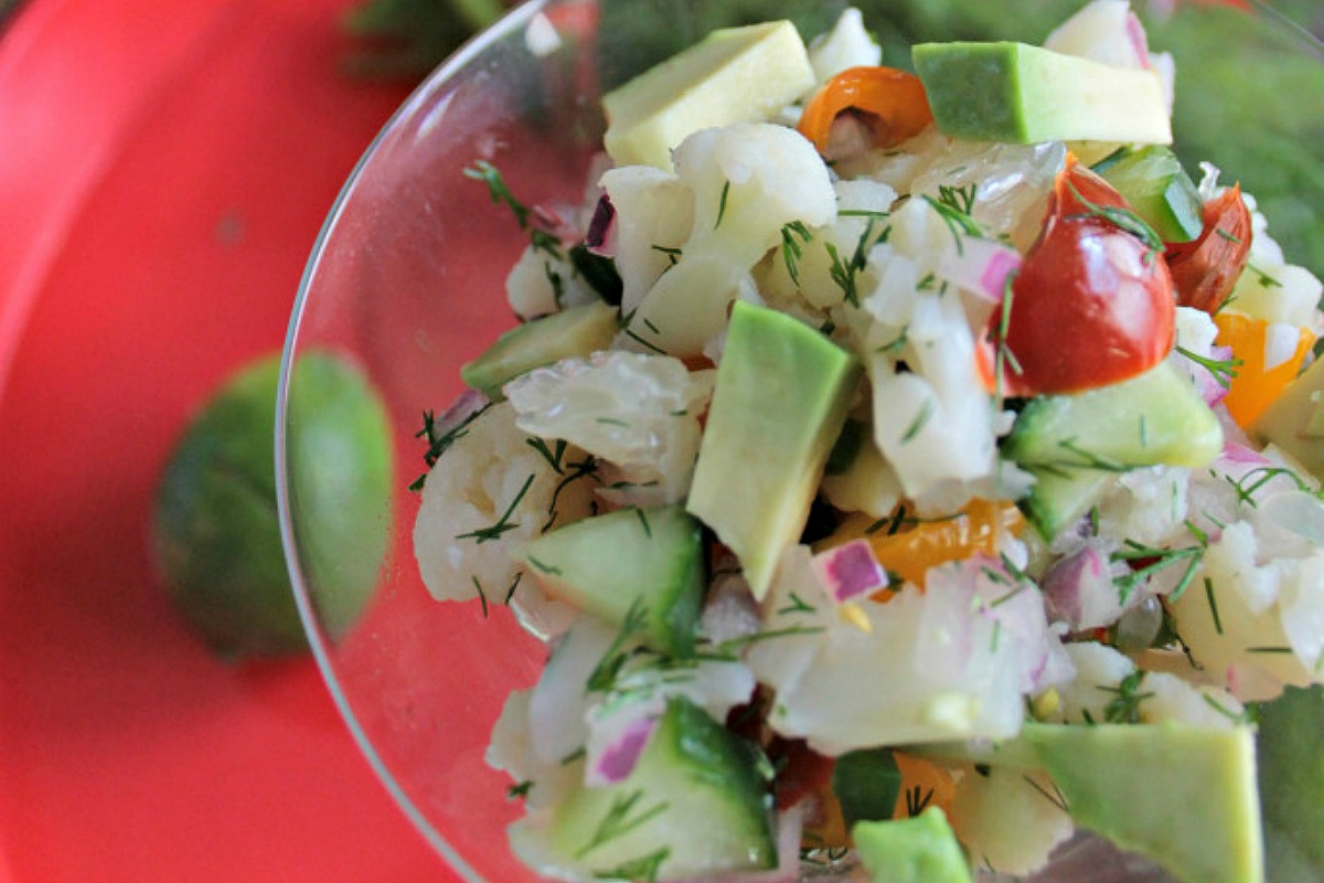 Veggie Ceviche With Dill [Vegan, Gluten-Free]