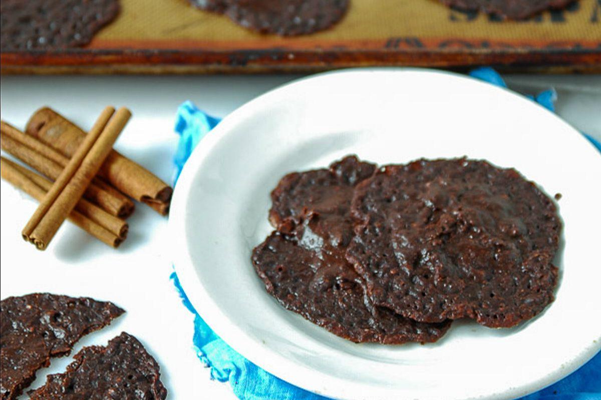Mexican Chocolate Brownie Cookies [Vegan]
