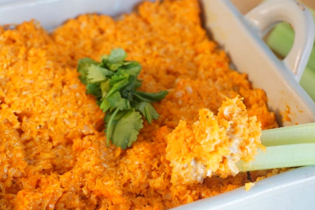 Buffalo Cauliflower Dip [Vegan, Gluten-Free]