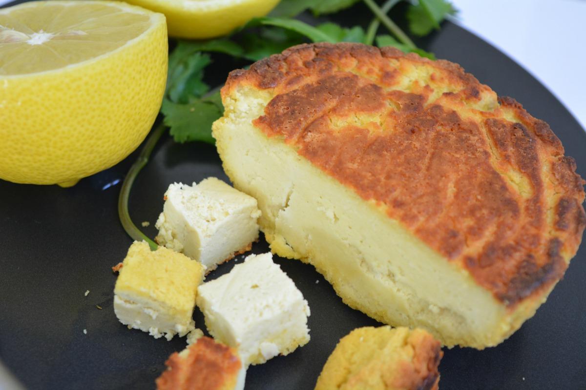 5 Ingredient Vegan Almond Feta Cheese [Gluten-Free]
