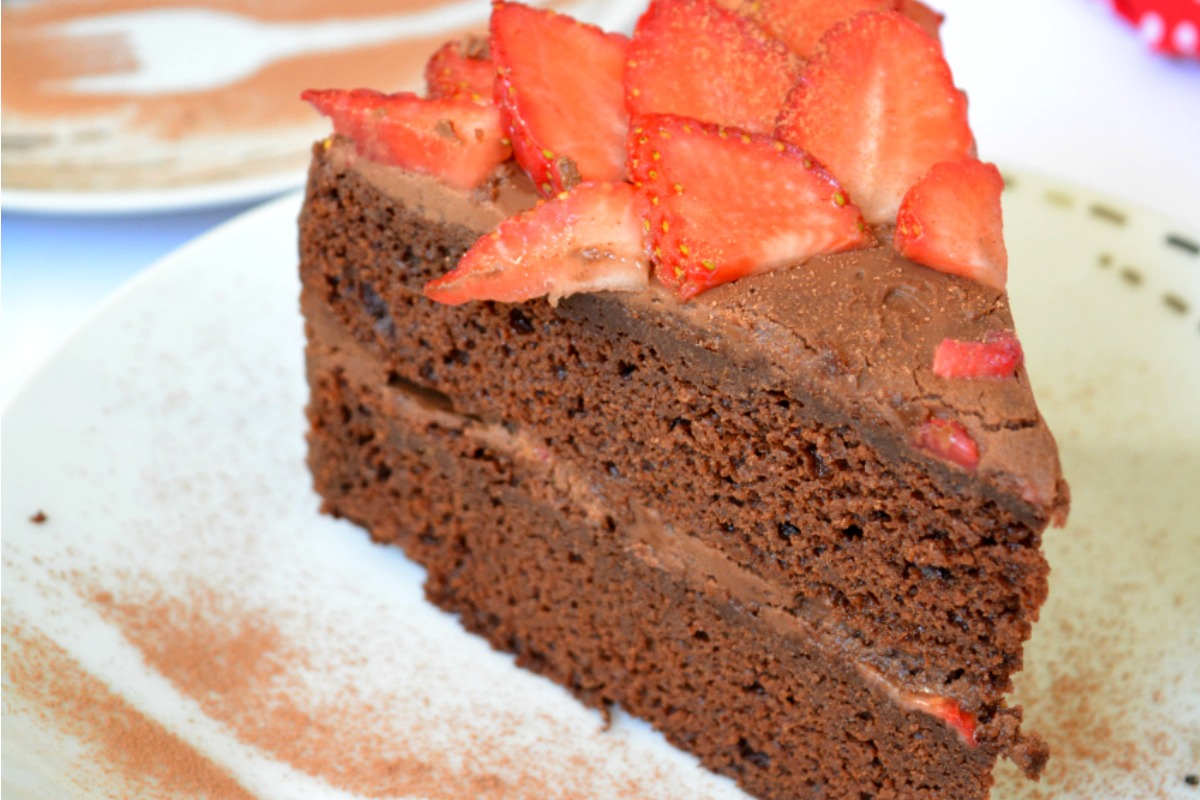 Chocolate Mud Cake [Vegan, Gluten-Free]