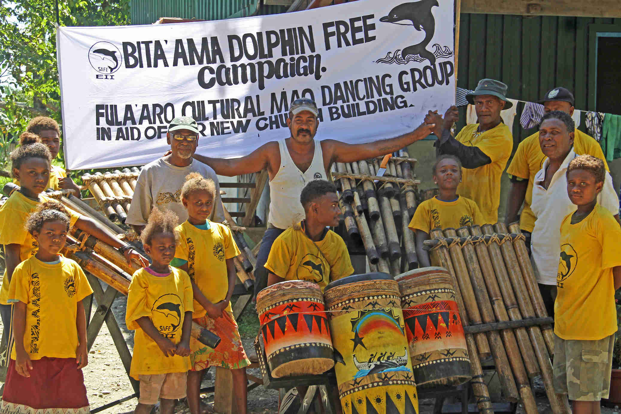 Protecting Dolphins in the Solomons