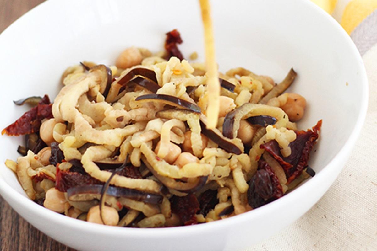 Eggplant-Noodles