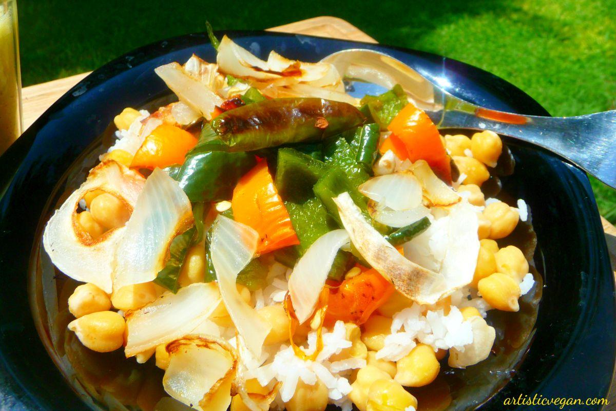 Poblano Chili Bowls [Vegan, Gluten-Free]