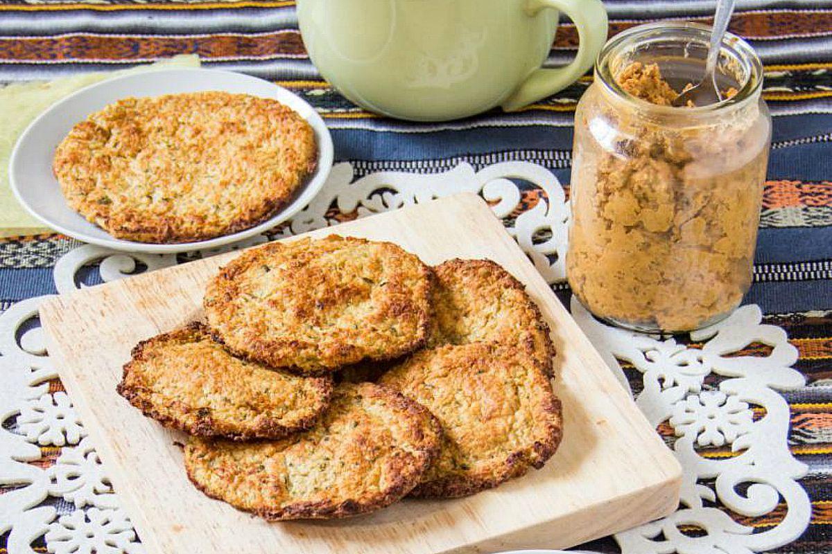 Cauliflower Flatbreads [Vegan, Gluten-Free]