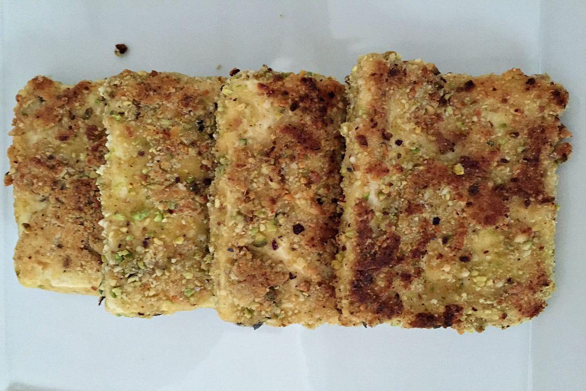 Pistachio Almond Tofu [Vegan, Gluten-Free]