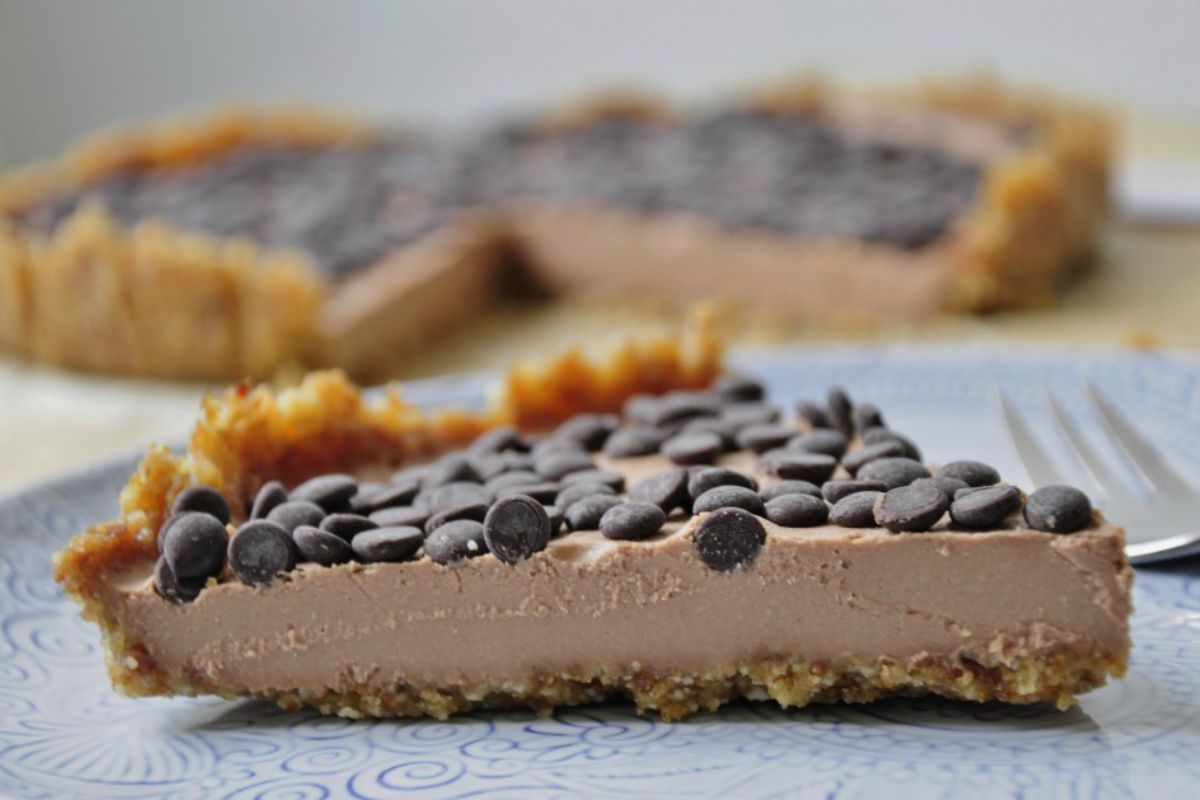Chocolate Mousse Tart [Vegan]