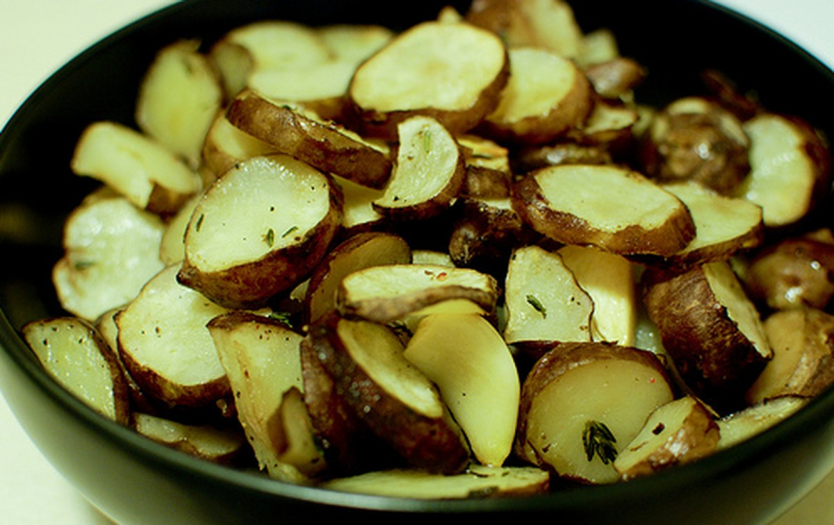 Easy Roasted Sunchokes [Vegan, Gluten-Free]