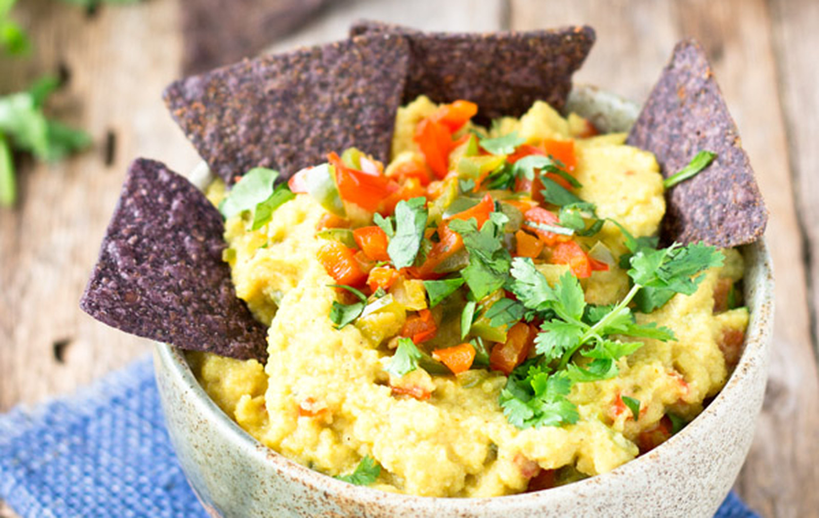 Healthy Spicy Cauliflower Dip [Vegan, Gluten-Free]