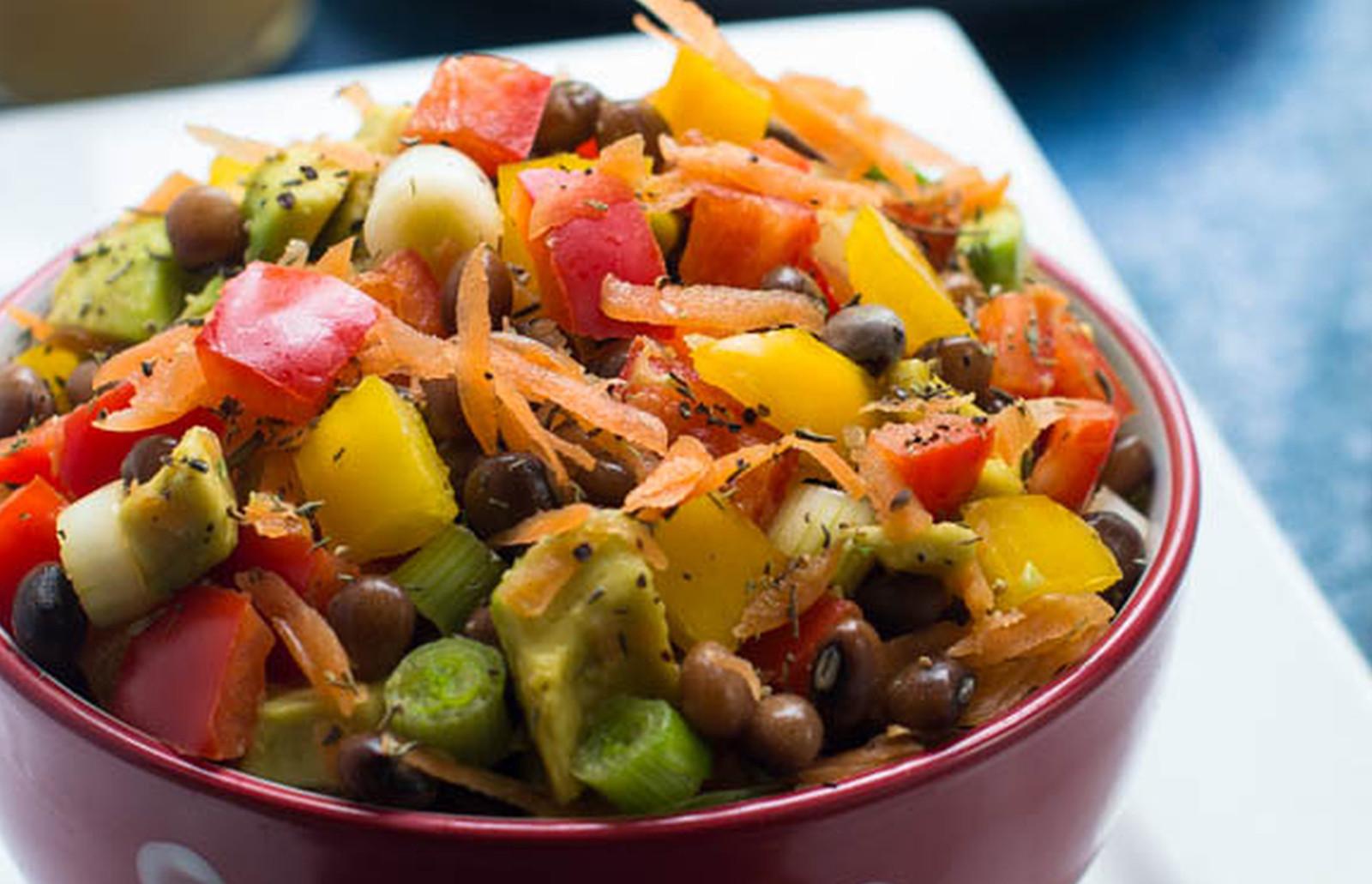 pigeon peas salad