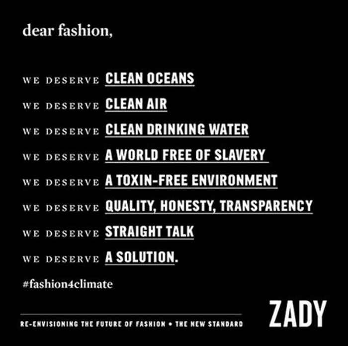 Brand-New Campaign by Zady Aims to Re-Envision the Future of Fashion – Find Out How You Can, Too